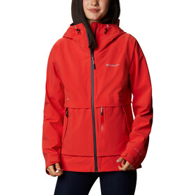 Columbia Beacon Trail Softshell Jacket Women, bold orange